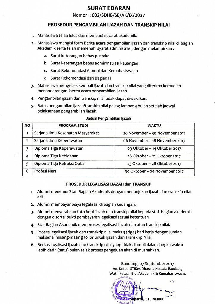 Prosedur Pengambilan Ijazah 2017 724x1024 Prosedur Pengambilan Ijazah STIKes