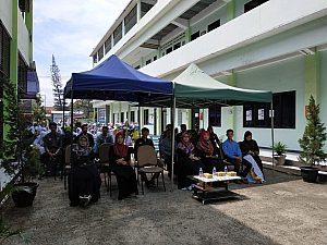 IMG 20190422 WA0001 1 300x225 Debat dan uji publik kandidat calon presiden mahasiswa STIKes Dharma Husada Bandung Tahun Akademik 2018/2019 STIKes